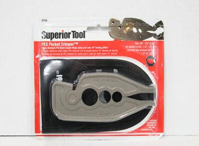 Superior Tool 07100 Pex Pocket Crimper