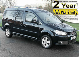 2012(12) VOLKSWAGEN CADDY 1.6 TDi MAXI LIFE +PLUS LOW FLOOR WHEELCHAIR ACCESS