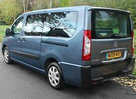 2009(09) PEUGEOT EXPERT 2.0 HDi TEPEE LEISURE LWB LOW FLOOR WHEELCHAIR ACCESS