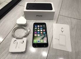 iPhone 7 128gb black excellent condition 3 months old apple warranty until November 2017