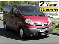 2010(10) VAUXHALL VIVARO 2.0 CDTi LOW FLOOR WHEELCHAIR ACCESSIBLE VEHICLE