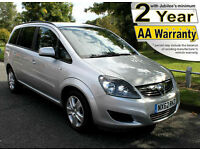 2013(62) VAUXHALL ZAFIRA 1.8 EXCLUSIVE LOW FLOOR WHEELCHAIR ACCESSIBLE VEHICLE