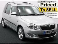 2011(60) SKODA ROOMSTER 1.6 SE TDi CR 105 ~ AIRCON ~ PANORAMIC ROOF
