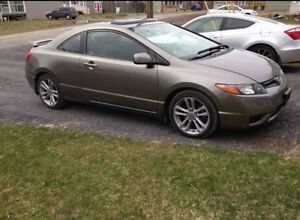 2008 Honda Civic Si Coupe/6speed