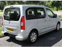 2012(61) PEUGEOT PARTNER 1.6 HDi S TEPEE LOW FLOOR WHEELCHAIR ACCESSIBLE VEHICLE