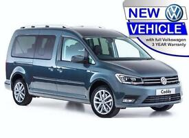 BRAND NEW VOLKSWAGEN CADDY 2.0 TDi BLUEMOTION MAXI LIFE PLUS WHEELCHAIR ACCESS