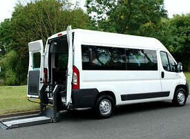 BRAND NEW FIAT DUCATO 2.3 AX-S CHAIRLIFT WHEELCHAIR ACCESSIBLE VEHICLE ~ 9 SEATS
