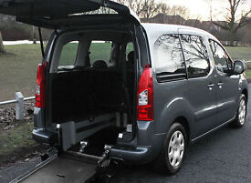 2010(10) PEUGEOT PARTNER 1.6 HDi S TEPEE WHEELCHAIR ACCESSIBLE VEHICLE ~ AIRCON