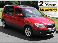 2011(11) SKODA ROOMSTER 1.2 TSi SCOUT LIBERTY LOW FLOOR WHEELCHAIR ACCESSIBLE