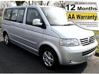 2008(08) VOLKSWAGEN CARAVELLE TDi SE AUTO DRIVER TRANSFER WHEELCHAIR ACCESSIBLE