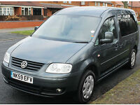 2010(59) VOLKSWAGEN CADDY 1.9 TDi MAXI LIFE LOW FLOOR DISABLED WHEELCHAIR ACCESS