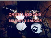 Drum lessons in Bangor/Belfast