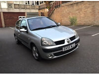 2005 55 REG RENAULT 1.2 DYNAMIQUE 3DR METALLIC SILVER DRIVES VERY WELL !