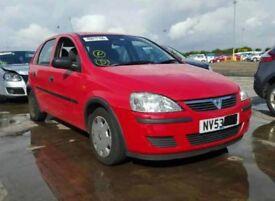 2003 Vauxhall Corsa C 1.2 Z12XE Breaking Red Y547
