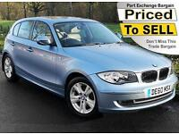 2011(60) BMW 1 SERIES 2.0 118i SE 5DR AUTO ~ FULL LEATHER ~ SUNROOF ~ AIRCON