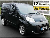2014(14) FIAT QUBO 1.3D SWITCH DRIVE FROM OR UPFRONT AUTO WHEELCHAIR ACCESSIBLE