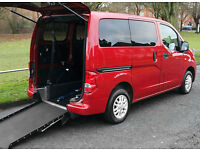 2012(12) NISSAN NV200 1.5 DCi SE LOW FLOOR WHEELCHAIR ACCESSIBLE VEHICLE