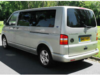 2007(07) VOLKSWAGEN SHUTTLE 2.5 TDi SE LWB DSG AUTO DRIVE FROM WHEELCHAIR