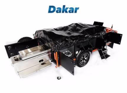 Off Road Specialist Dakar Camper Trailer Meadowbrook Logan Area Preview