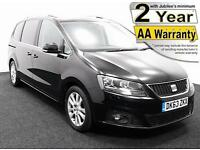 2014(63) SEAT ALHAMBRA 2.0 TDi SE LUX ECOMOTIVE LOW FLOOR WHEELCHAIR ACCESSIBLE