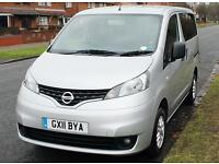 2011(11) NISSAN NV200 1.5 DCi SE LOW FLOOR WHEELCHAIR ACCESSIBLE VEHICLE