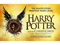 Harry Potter and the Cursed Child Part 1 and 2- Wednesday 1st March 2017 Balcony 6 TICKETS