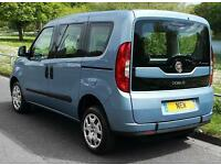BRAND NEW FIAT DOBLO 1.4 EASY AIR LOW FLOOR WHEELCHAIR ACCESSIBLE VEHICLE