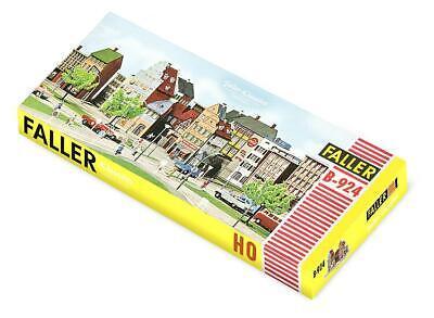 109924 FALLER H0 B-924 Altstadtblock mit Stadtmauer Läden Häuser Bausatz Modell