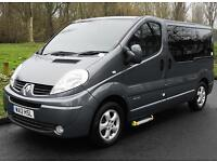 2012(12) RENAULT TRAFIC 2.0 DCi ECO SPORT AUTO CHAIRLIFT WHEELCHAIR ACCESSIBLE