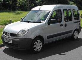2007(07) RENAULT KANGOO 1.6 AUTHENTIQUE AUTO WHEELCHAIR ACCESSIBLE VEHICLE