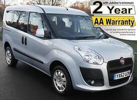 2013(62) FIAT DOBLO 1.4 MYLIFE LOW FLOOR WHEELCHAIR ACCESSIBLE VEHICLE