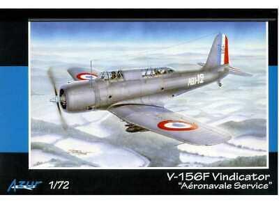 Azur 1/72 113 Vought V-156F Vindicator in Aeronavale Service - Model Kit