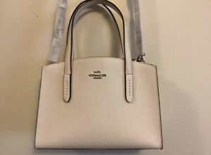 Coach white Handbag Purse new with tags