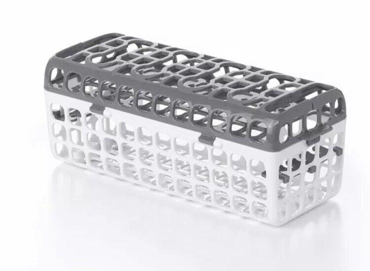 OXO Tot Dishwasher Basket, Gray, Baby, Tote, Bottle Dishwasher Basket