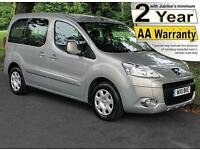 2011(11) PEUGEOT PARTNER 1.6 HDi BROTHERWOOD S TEPEE LOW FLOOR WHEELCHAIR ACCESS