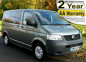 2009(09) VOLKSWAGEN TRANSPORTER 1.9 TDi PASSENGER UPFRONT WHEELCHAIR ACCESSIBLE