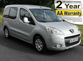 2011(60) PEUGEOT NEW PARTNER 1.6 HDi S TEPEE LOW FLOOR WHEELCHAIR ACCESSIBLE