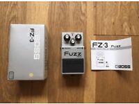 Boss FZ-3 fuzz guitar effects pedal - MINT