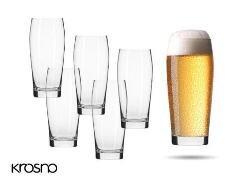 Krosno Chill Collection Bierglazen - Set van 6 - 500ml