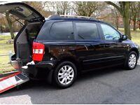 2007 Kia Sedona 2.9CRDi Diesel , 7 seats black