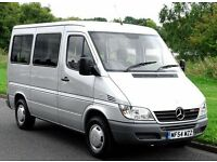 Mercedes Sprinter mobility converted, ideal for first time camper van conversion