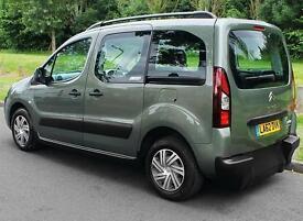 2013(62) CITROEN BERLINGO 1.6 E-HDi XTR AUTO ~ UP FRONT WHEELCHAIR PASSENGER