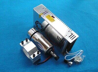 300w Air-cooled Engraver Brush Dc Spindle Motor Er11 48v 52mmmount Power Supply