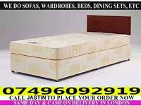 **Free Delivery** Single / Double / Small Double / king Size Divan Bed & Mattress