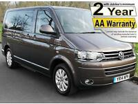 2014(14) VOLKSWAGEN CARAVELLE 2.0 TDi EXECUTIVE DSG AUTO WHEELCHAIR ACCESSIBLE