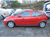 Vauxhall Corsa 1.2 i 16v SXi 5dr 2 KEYS+FSH+1 YR MOT+FRNT FOGS LOW MILES