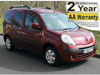2013(62) RENAULT KANGOO 1.6 EXPRESSION AUTO LOW FLOOR WHEELCHAIR ACCESSIBLE