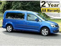 2012(61) VOLKSWAGEN CADDY 1.6 TDi MAXI LIFE PLUS WHEELCHAIR ACCESSIBLE VEHICLE