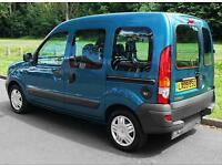 2009(09) RENAULT KANGOO 1.2 AUTHENTIQUE LOW FLOOR WHEELCHAIR ACCESSIBLE VEHICLE