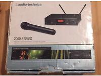 Audio Technica ATW-2120 F Band Handheld Wireless System